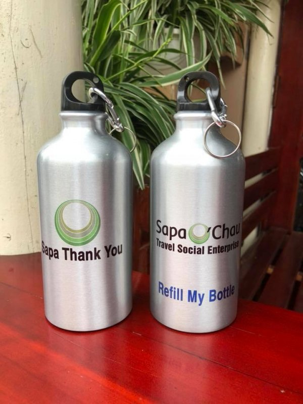 promote reuseable bottles