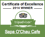 Tripadvisor Certificate of Excellence 2014 Winner!